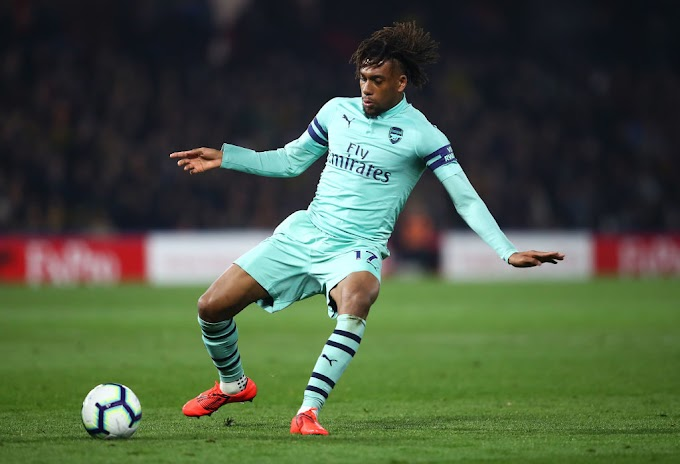 ALEX IWOBI THREATENS TO LEAVE ARSENAL IF ZAHA DEAL AFFECT HIS PLAYING TIME