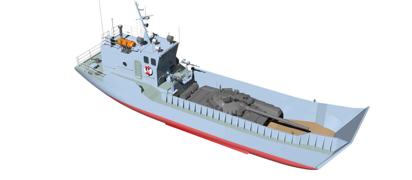 Малий десантний катер Ондатра