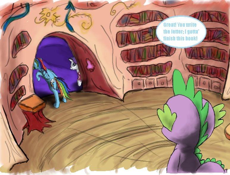 Equestria Daily Mlp Stuff Comic Rarity S Revenge