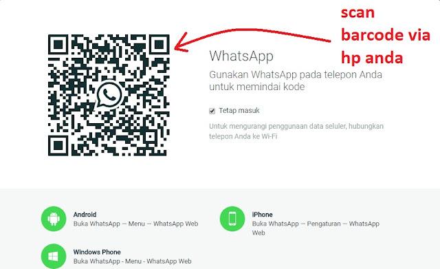 Cara Menggunakan Whatsapp Melalui PC maupun Laptop Tanpa Download Aplikasi