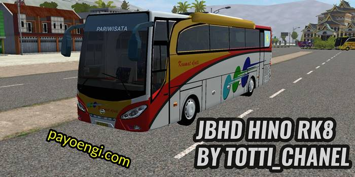 download mod bussid jbhd hino rk8 terbaru full animasi