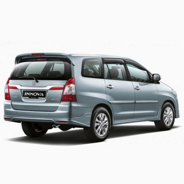 add on Toyota Innova Luxury 11-13