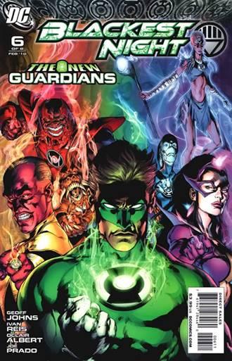 Blackest Night, el evento de Green Lantern