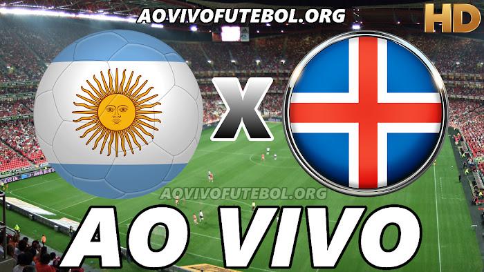 Assistir Argentina x Islândia Ao Vivo HD