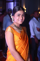 Shalini Pandey in Beautiful Orange Saree Sleeveless Blouse Choli ~  Exclusive Celebrities Galleries 029.JPG