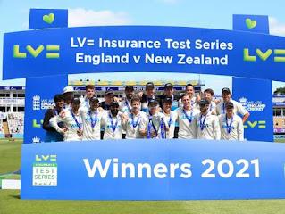 New Zealand tour of England 2-Match Test Series 2021