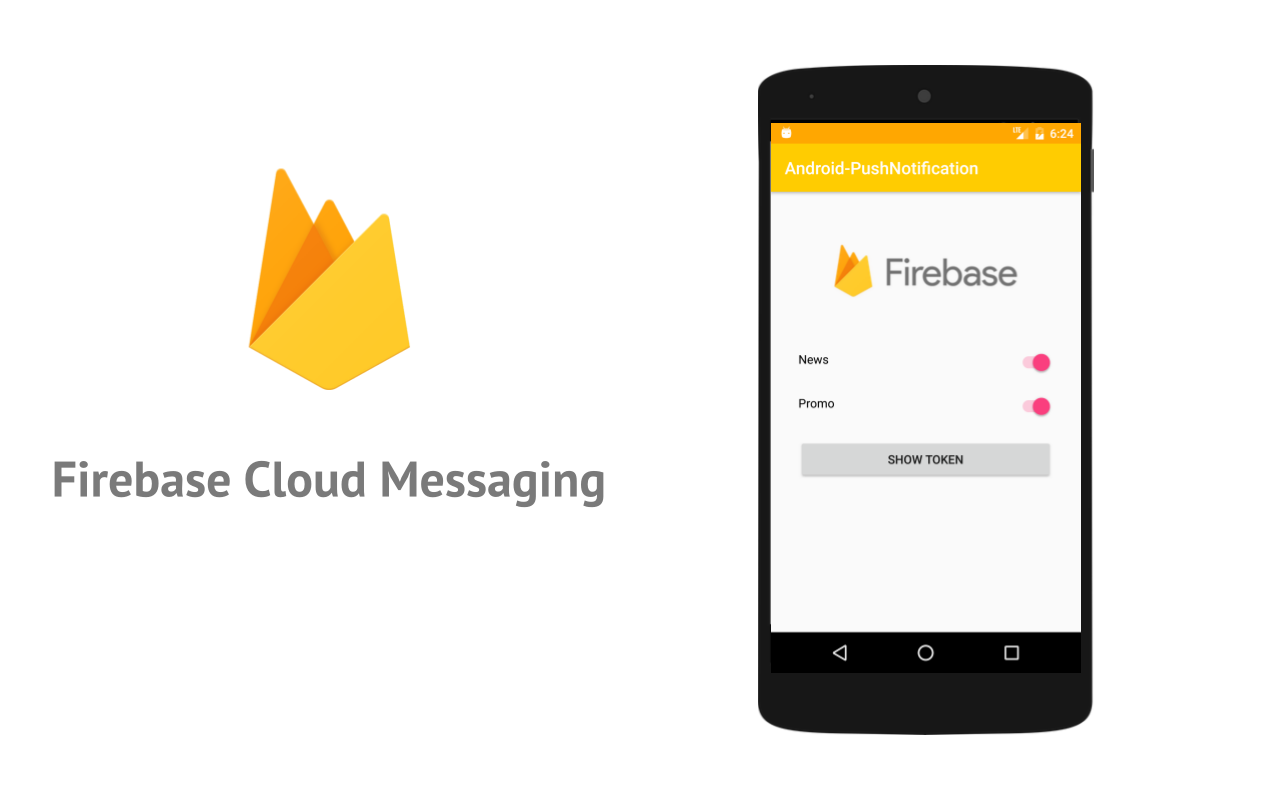 tutorial android) push notification using firebase cloud messaging