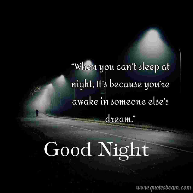 Good night quotes images