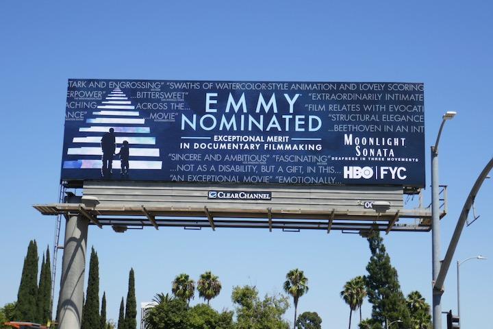 Moonlight Sonata 2020 Emmy nominee billboard