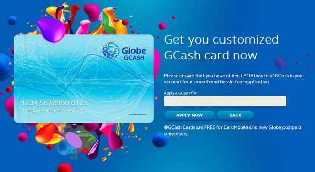 Globe GCASH Online is Now Available - CaidoBlogger