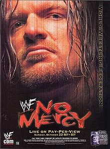 WWE / WWF - No Mercy 2000 - Event poster