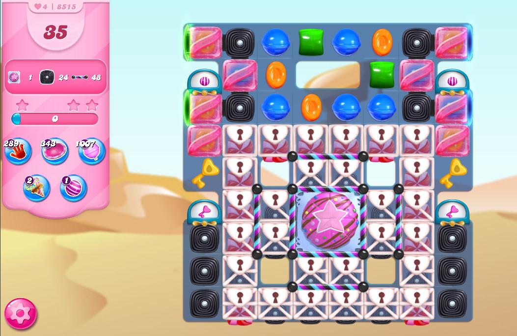 Candy Crush Saga level 8515