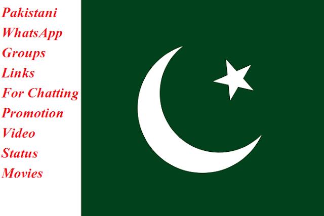 Pakistani Whatsapp Group Links