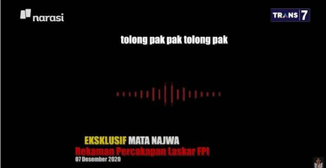 Mata Najwa Eksklusif Beberkan Rekaman Terakhir 6 Laskar FPI yang Tewas, Ini Isinya!