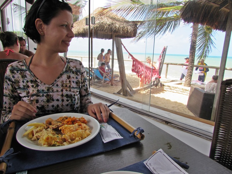 Restaurante Naf Naf Natal, praia de Jacumã