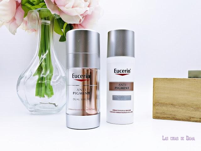 Anti-Pigment Eucerin  manchas hiperpigmentación thiamidol facial skincare beauty belleza dermocosmética