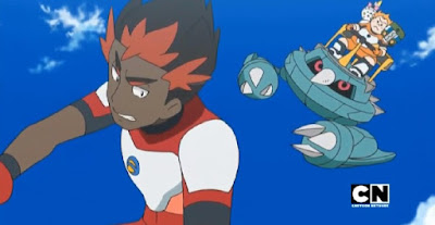 Pokémon Sol y Luna Ultra Aventuras Capitulo 35 Temporada 21 Un giro y un estallido