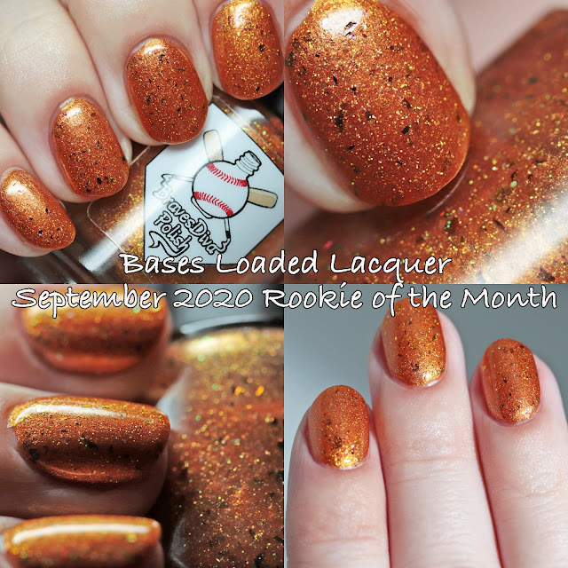 Bases Loaded Lacquer September 2020 Rookie of the Month