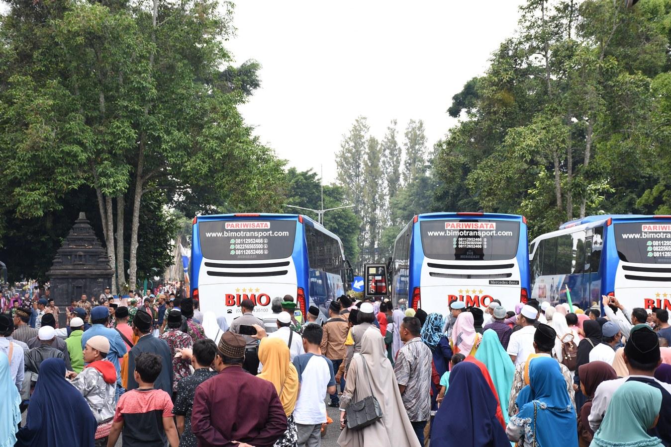 Jamaah Haji Wonosobo Tiba Di Tanah Air