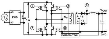 Full-Bridge Converter Schematic Diagram