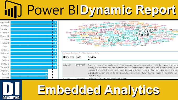 Power BI Dynamic Report 📊 (EMBEDDED ANALYTICS) 📈