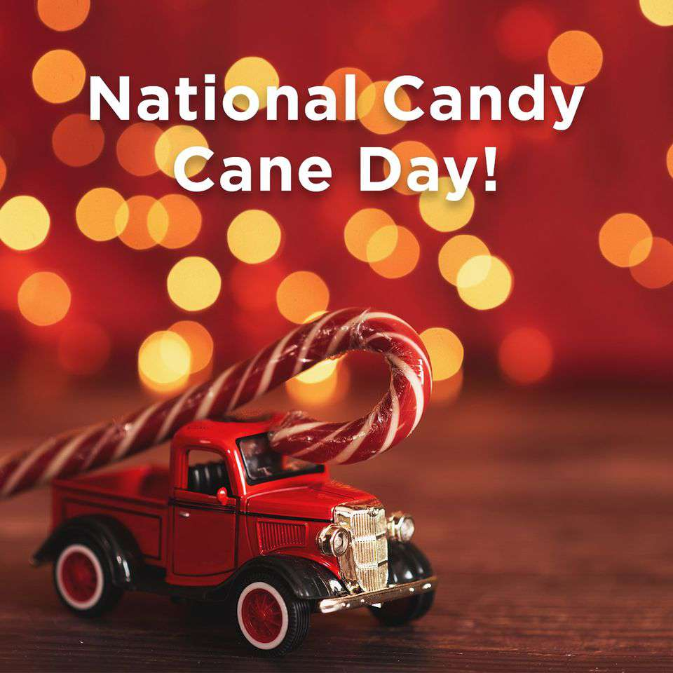 National Candy Cane Day Wishes Photos