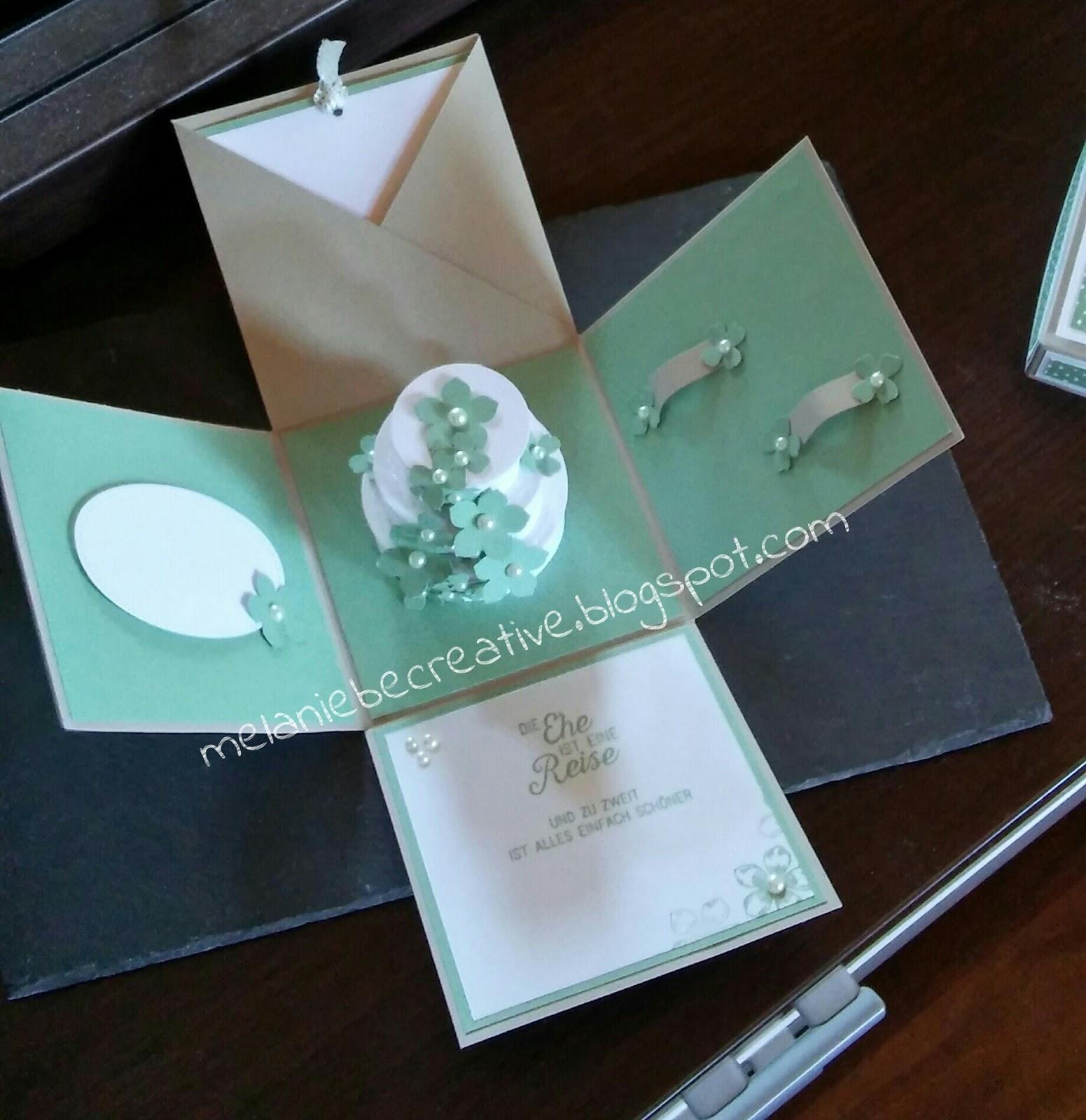Melanie Be Creative Hochzeitsgeschenk Mal Anders