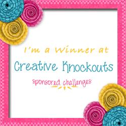I won at Creative Knockouts!