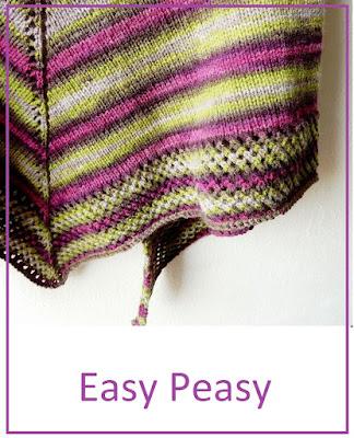 Shawl knitting pattern for beginner knitters