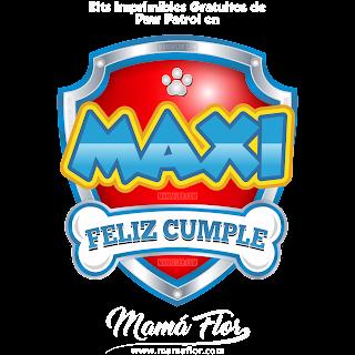 Logo de Paw Patrol: MAXI