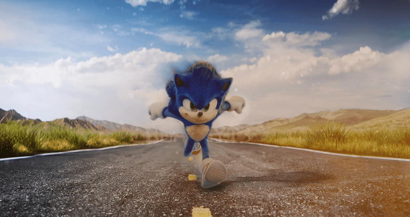 A Paramount Pictures divulgou um trailer inédito de Sonic: O Filme.