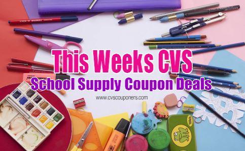 this weeks cvs school supply deals