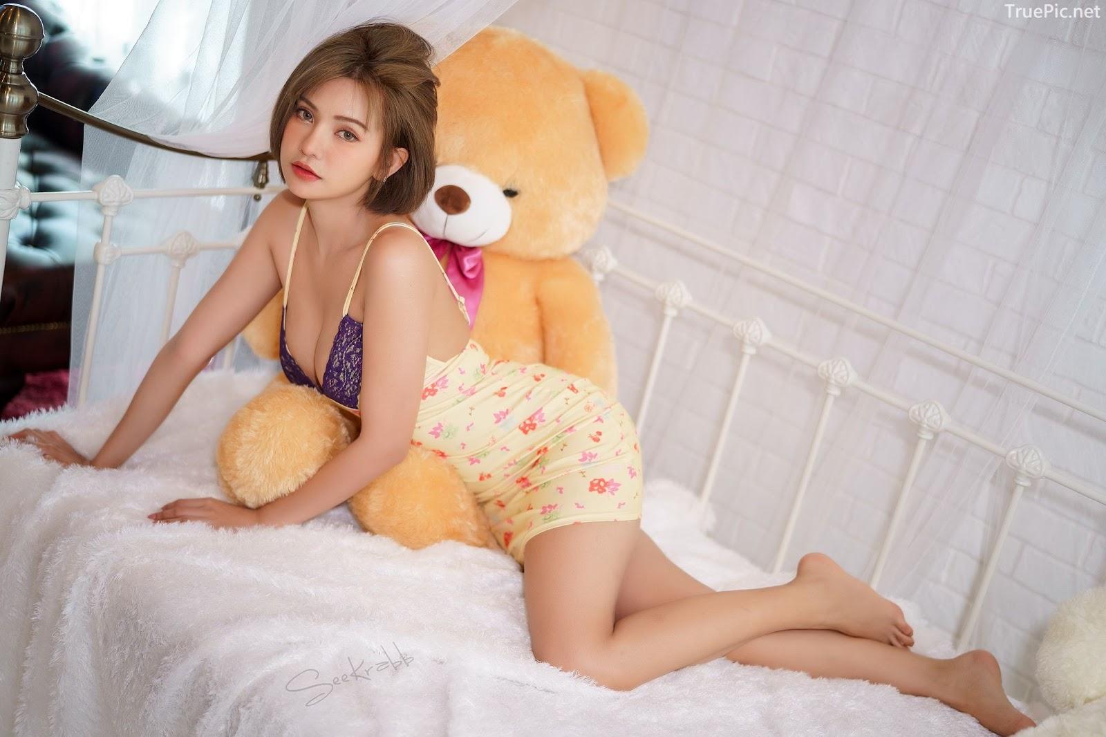 Thailand sexy model - Sutasinee Siriruke - Sleepwear and Lingerie Set - TruePic.net - Picture 6
