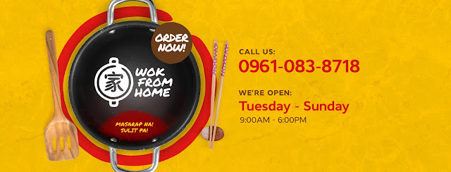 Wok From Home Delivery Contact Number - Metro Manila