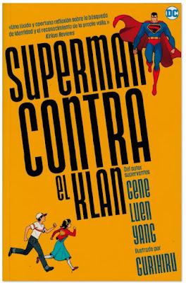 Superman contra el Klan de Gene Luen Yan y Guriiru comic