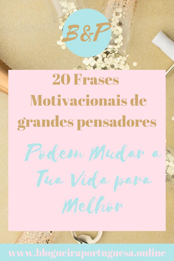 20 Frases de grande pensadores motivational (ALT)