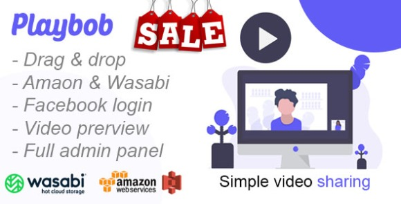 Playbob v1.0 - Simple Video Sharing nulled free download