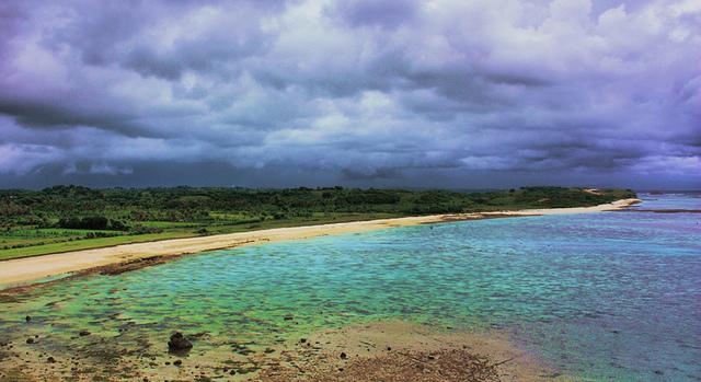 Pantai Kaliantan di lombok timur