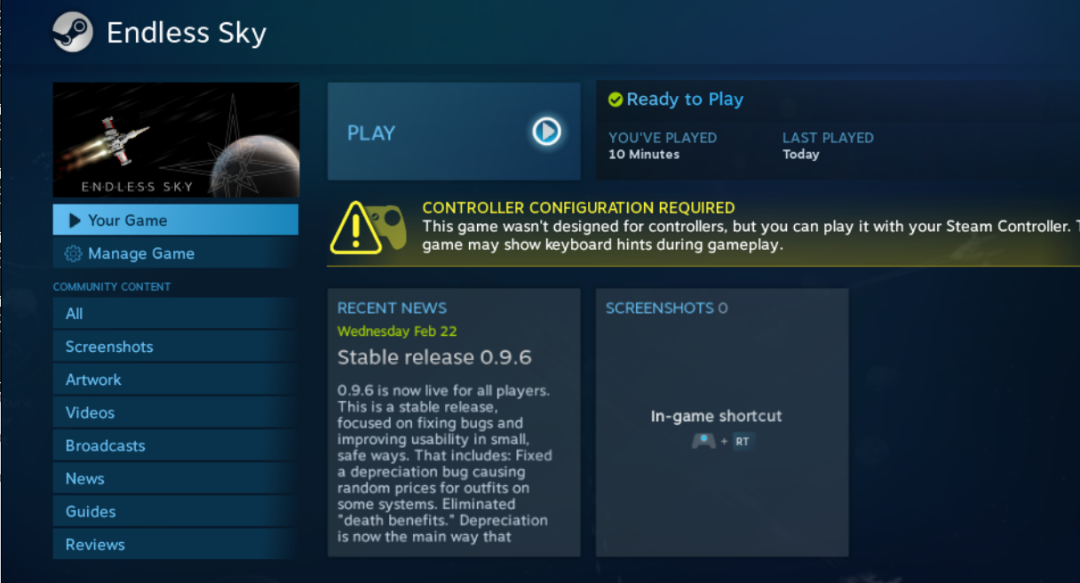 Steam Client on Fedora 25 with Betop controller for non-gamers Part 2