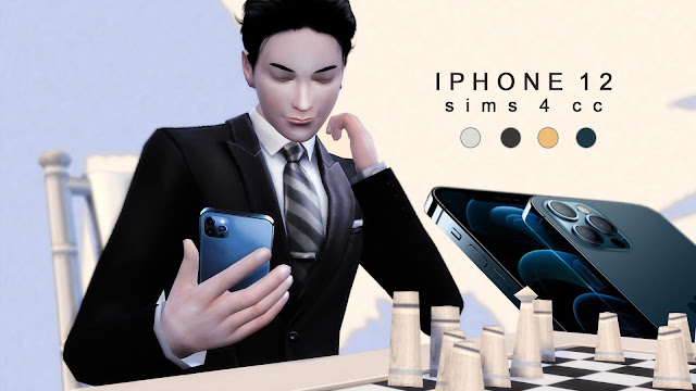 iPhone 12 - Sims 4 CC Download