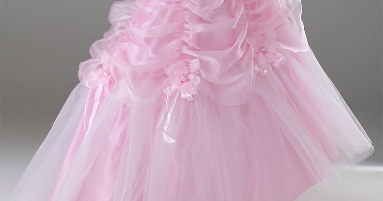 Pink Wedding Gown: Various Kinds Of Wedding Dresses With New Models: Pink