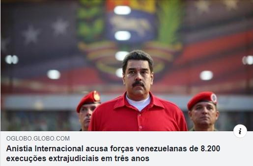 ditadura comunista venezuela mata