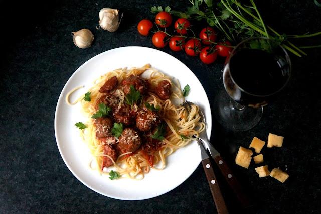 спагетти клеменца