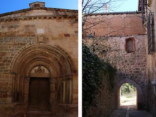 La iglesia de Santiago y la Puerta del Sol