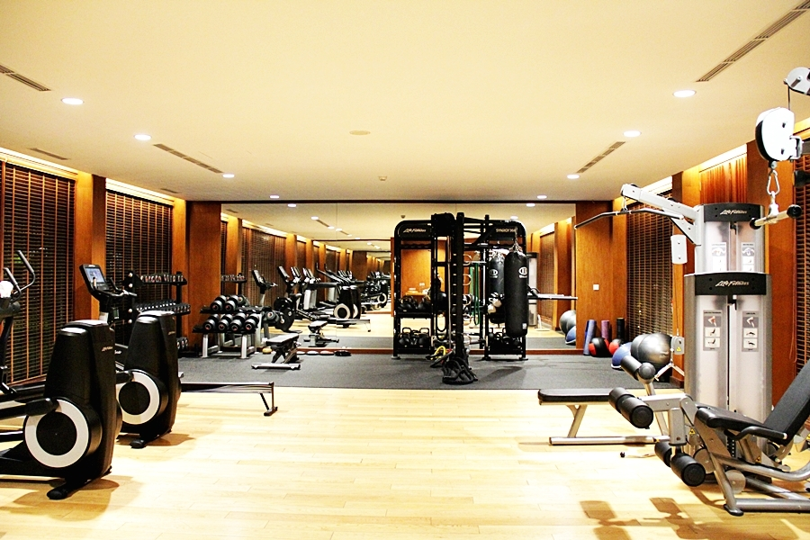 hotel gym six senses uluwatu bali