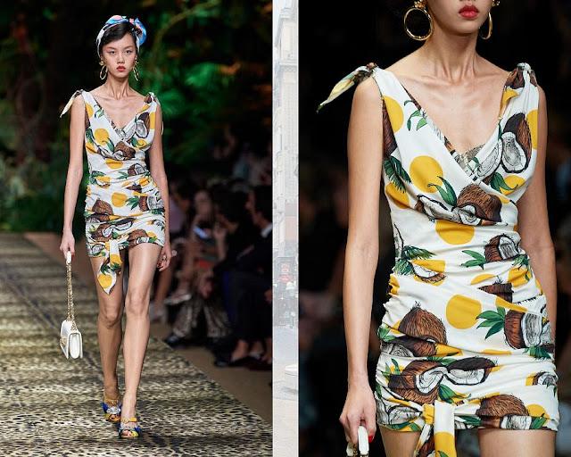 Dolce & Gabbana весна-лето 2020 Показ моды 9