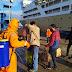 786 Penumpang KM Lambelu Di Pelabuhan Murhum Baubau Disterilisasi