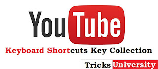 YouTube Keyboard Shortcuts Key Collection [2015]