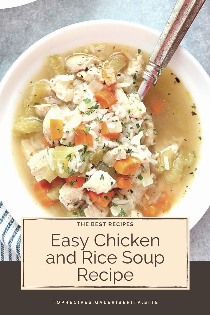 Easy Chicken and Rice Soup Recipe | chicken aeasy dinners, chicken ovens chicken cooking, chicken families, chicken soysauce, chicken crockpot, chicken easy recipes, chicken dinners, chicken sauces, chicken lowcarb, chicken families, chicken crockpot, chicken olive oils, chicken lowcarb, chicken glutenfree, chicken dinners, chicken families, chicken stirfry, chicken recipesfor, chicken greek yogurt, chicken sour cream, chicken meals, chicken green onions, chicken comfort foods, chicken products, chicken hot sauces, chicken ovens, chicken healthy, chicken bread crumbs, chicken red peppers, chicken white wines, chicken simple, chicken veggies, chicken blackbeans, chicken garlic, chicken brown rice, chicken low carb, chicken crock pot, chicken easy recipes, chicken gluten free, chicken dinners, chicken soy sauce, chicken week night meals, chicken crock pot, chicken low car  #chickenrecipes #bakedchicken #chickenthighs #butterchicken #crockpotchicken #chickenhealthy #chickenenchiladas #chickenparmesan #chickencasserole #chickenandrice #chickenpasta #chickeneasy #chickendinner #orangechicken #chickenpiccata #chickenmarsala #chickenmarinade #chickenspaghetti #lemonchicken #teriyakichicken #chickenpotpie #chickenfajitas #ranchchicken #chickenalfredo #friedchicken #chickentenders #chickensalad #chickentacos #shreddedchicken #slowcookerchicken #bbqchicken #grilledchicken #chickenwings #chickensoup #stuffedchicken #chickenchili #wholechicken