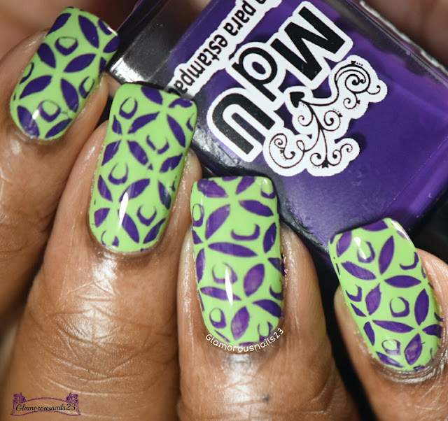 Purple & Green - Stamping Saturdays #14